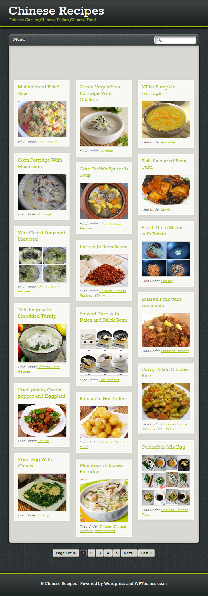 Chinese Recipes